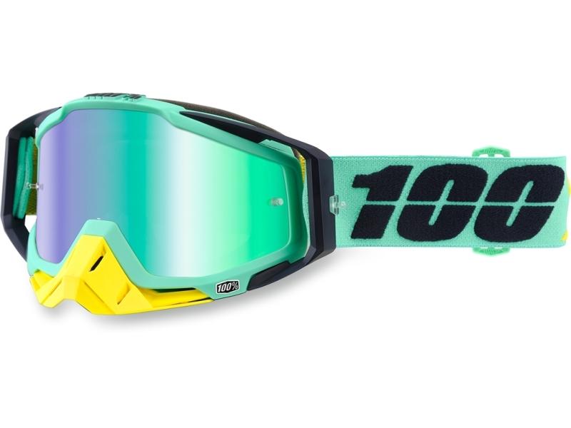 Очки 100% Racecraft Kloog / Mirror Green Lens 50110-206-02