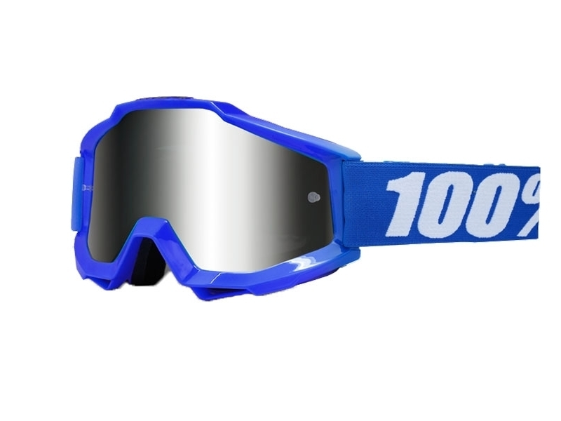Очки 100% Accuri Sand Reflex Blue / Grey Smoke Lens 50201-002-02