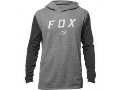 Толстовка Fox Tranzit Hooded LS Knit Heather Graphite L