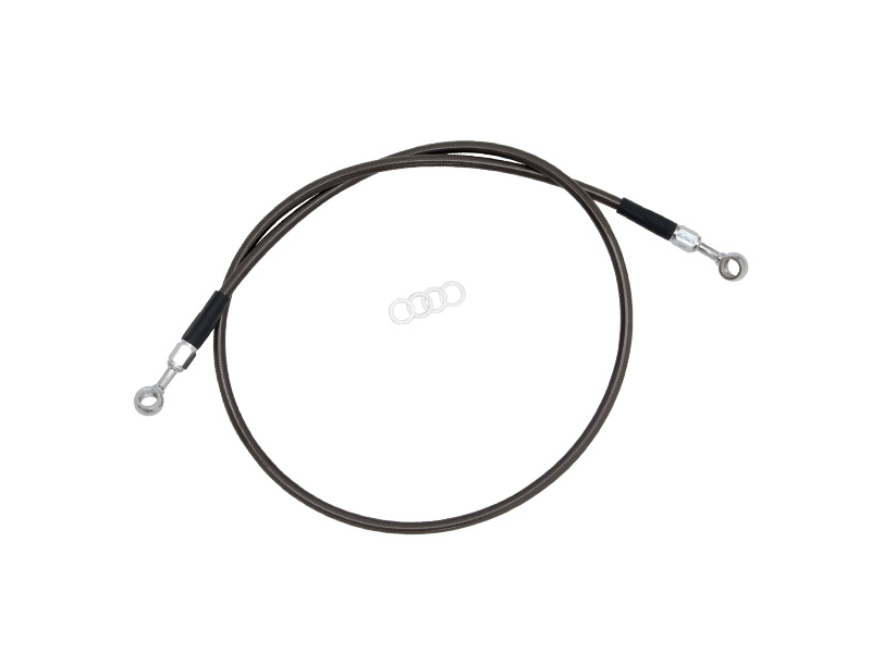 Тормозной шланг Z-Wheel F Brake Hose  DRZ400SM C_Black W61-14011