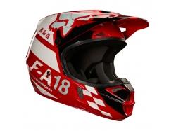 Мотошлем Fox V1 Sayak Helmet Red
