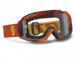 Очки Scott Hustle MX abstract red clear works 225102-4044113