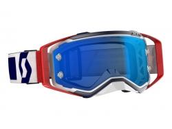 Очки Scott Prospect, red/blue/electric blue chrome works 268178-1228278