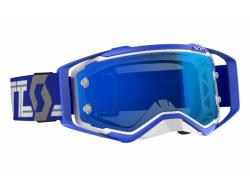Очки Scott Prospect, blue/white/orange chrome works 268178-1029278