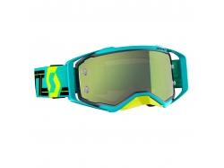 Очки Scott Prospect, blue/teal/yellow chrome works 268178-5572289
