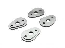 Крепление поворотника DRC CNC Flasher Holder Plates for Y/K Ti 2set D45-59-950