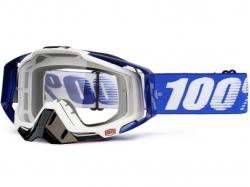 Очки 100% Racecraft Cobalt Blue/ Clear Lens 50100-002-02