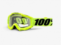 Очки 100% Accuri Fluo Yellow/Clear Lens 50200-004-02