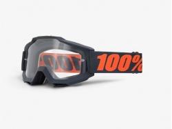 Очки 100% Accuri Ganmetal/Clear Lens 50200-025-02