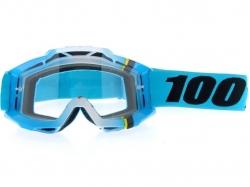 Очки 100% Accuri Blue Crystal/Clear Lens 50200-122-02