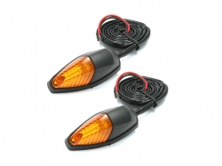 Поворотники DRC 586 LED Flasher 12V Orange 2pcs D45-58-617