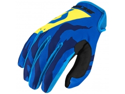 Мотоперчатки Scott Glove 350 Race blue/yellow/M 246697-1054007