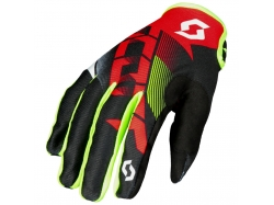 Мотоперчатки Scott Glove 350 Dirt, red/black S 264319-1018006