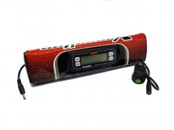 Подушка на руль с секундомером DRC X-Monitor SP1 #222 Red D60-01-032