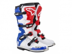 Мотоботы Alpinestars Tech 8 RS White/Red/Blue 11