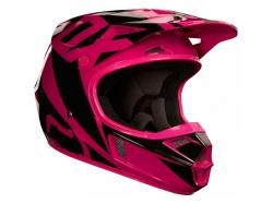 """Мотошлем Fox V1 Race Helmet Pink 55-56см """"S"""""""