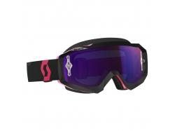 Очки Scott Hustle MX black/fluo pink/purple chrome works 246430-5403281