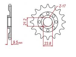 Звезда ведущая DRC 520-13 Suzuki RMZ450 '12 D331-540-13 (JTF1441)