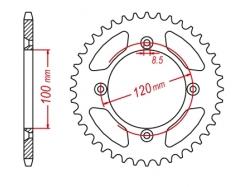 Звезда ведомая DRC 428 Suzki RM80/85; YamahaYZ80/85 D34-31-0.. (JTR798)