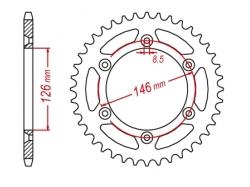 Звезда ведомая DRC 520 Suzuki RM/RMZ/DRZ400-'03 D34-32-0.. (JTR808)