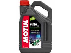 Масло для снегохода Motul 2T Snow Power 4L
