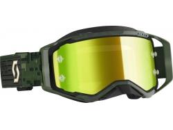 Очки Scott Prospect military/green/yellow chrome works 272821-6312289