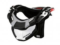 Защита шеи подростковая Scott Neck Brace 450, white/black, SML 235876-1035015