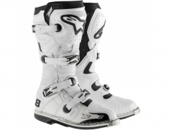 Мотоботы Alpinestars Tech 8 RS White Vented 11