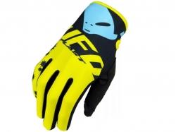 "Мотоперчатки UFO ""MIZAR"" GLOVE Yellow L (GU04431#D-L)"