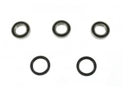 Комплект подшипников/сальников заднего колеса Kawasaki KX250/450F; Suzuki RMZ250 W250R-001