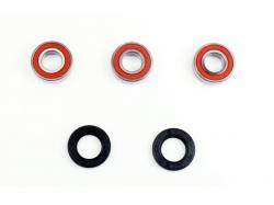 Комплект подшипников/сальников заднего колеса Kawasaki KX125/250 '02 W445012R