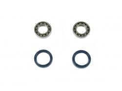 Комплект подшипников/сальников переднего колеса Suzuki RMZ250/450; Yamaha YZ250/450 '16  W510F-001