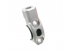 Крепление зеркала ZETA Rotating Bar Clamp MH 10mm Ti-Color ZE40-9411