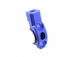 Крепление зеркала ZETA Rotating Bar Clamp MH 10mm Blue ZE40-9413