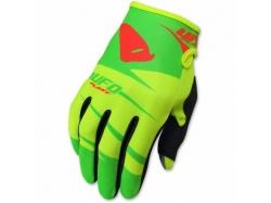 "Мотоперчатки подростковые UFO ""HYDRA"" BOY GLOVE Yellow/Green M (GU04416#D-M)"