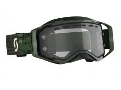 Очки с двойным стеклом Scott Prospect Enduro khakhi green/clear 272825-6312043
