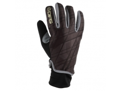 """Перчатки зимние DFG Icicle Glove Black/Gold """"XL"""" DG0332-0206"""