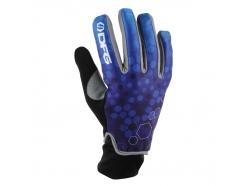"Перчатки зимние DFG Icicle Glove Blue/White ""L"" DG0332-0305"