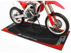 Коврик под мотоцикл ZETA Red 100x220cm DK241-Z11