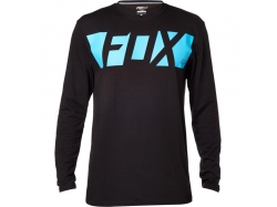Футболка Fox Cease LS Tech Tee Black XL 17573-001