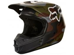 """Мотошлем Fox V1 Camo Helmet Green Camo 63-64см """"XXL"""""""