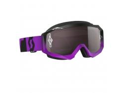 Очки Scott Hustle MX oxide purple/black silver chrome works 240587-4968269