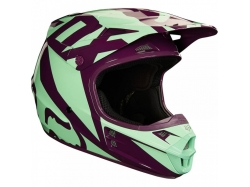 "Мотошлем Fox V1 Race Helmet Green 57-58см ""M"""