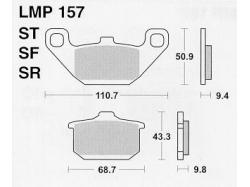 Колодки APRacing LMP157 ST