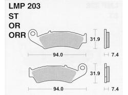 Колодки APRacing LMP203 ST