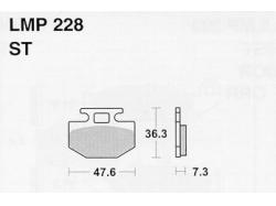Колодки APRacing LMP228 ST