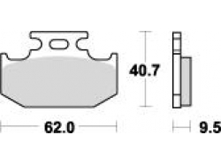 Колодки APRacing LMP248 ST