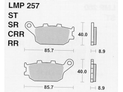 Колодки APRacing LMP257 ST