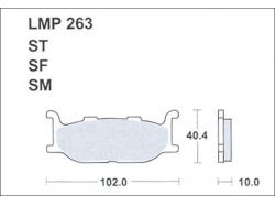 Колодки APRacing LMP263 ST