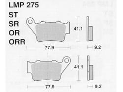 Колодки APRacing LMP275 OR